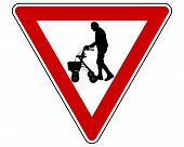 Give Way To Elderly People