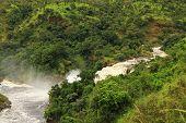 Uhuru Falls In Murchison Falls National Park