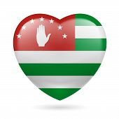 Heart icon of Abkhazia