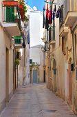 Alleyway. Monopoli. Puglia. Italy.