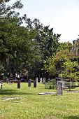 Colonial Park Cemetery In Savannah