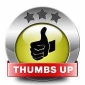 pic of job well done  - thumbs up Good and excellent work - JPG