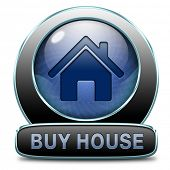 buying a house, flat, apartment or buy other real estate sign. Home or room sell icon. ,