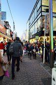 Tokyo - Nov 24 : People, Mostly Youngsters, Walk Through Takeshita Dori