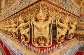 foto of garuda  - Garuda Wat Phra Kaew Bangkok Thailand Garuda Wat Phra Kaew Bangkok Thailand - JPG