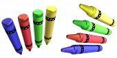 3D Crayons