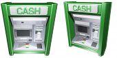 3D Cash Machine ATM