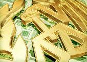IRS Logo & Money Concept 3D