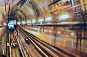 Street art Montreal metro