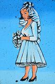 Street art Montreal people