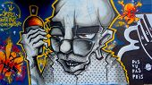 Street art Montreal tagger