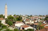 Rooftops of old Antalya