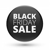 image of friday  - Black Friday Sale Title on Black Ball  - JPG