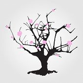 Tree in Chinese style.