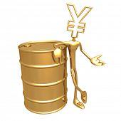 Oil Presenter Yen