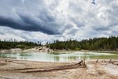 Landscape In Yellowstone