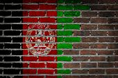 Dark Brick Wall - Afghanistan