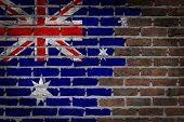 Dark Brick Wall - Australia