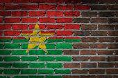 Dark Brick Wall - Burkina Faso