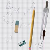 Stationery supplies are on cell sheet