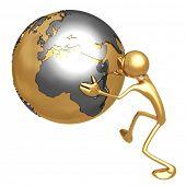 Globe Pusher