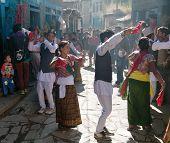 Folkloric Festival In Dunai Village - Nepal
