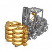Forklift Dollar