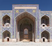 picture of samarqand  - View from Sher Dor Medressa  - JPG