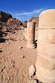 Roman Ruins In Petra, Jordan