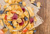 Breakfast (cornflakes And Berries)