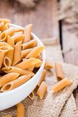 Portion Of Wholemeal Penne