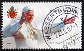 Postage Stamp Germany 2007 Pope Benedict Xvi