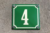 House Number: 4