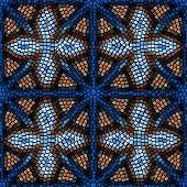Vitrage seamless pattern.