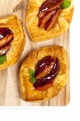 Plums pastries