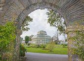 Greenhouse In The National Botanic Gardens In Dublin