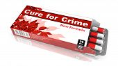 Cure for Crime - Blister Pack Tablets.