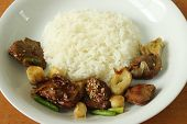 foto of liver fry  - chicken - JPG
