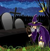 Wicked Witch In The Cemetery