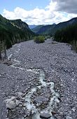 Nisqually River in Mt Rainier National Park