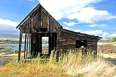 Native Indian Abandoned building