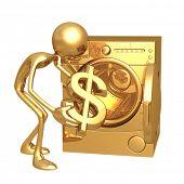 Money Laundering Dollar