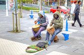 San-sebastian. Musicians On The Street