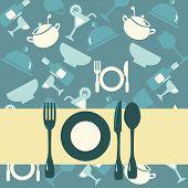 Background Of Restaurant Menu-illustration