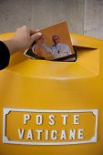 Postcards In Poste Vaticane