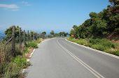 Mountain Road In Greece, Olympus Region