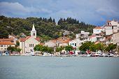 Zaton, Croatia View From The Sea