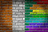 Dark Brick Wall - Lgbt Rights - Ivory Coast