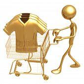 Shopping Cart Clothes