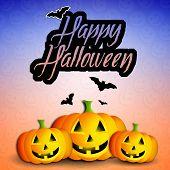 Pumpkins For Happy Halloween